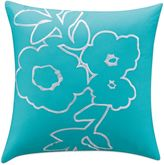 Kas Clara 16-Inch x 16-Inch Throw Pillow in Teal