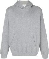 MSGM printed hood sweatshirt - men - Cotton/Viscose - S