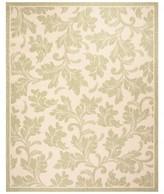 Ophelia Lisson Floral Beige/Green Indoor / Outdoor Area Rug & Co.