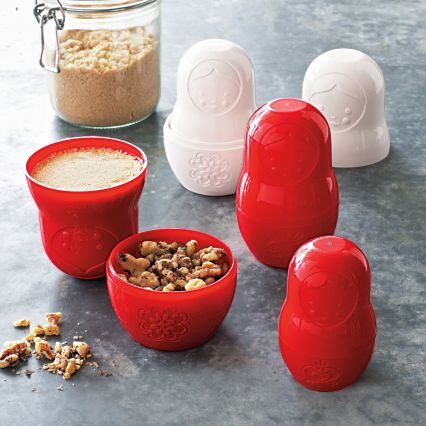 Sur La Table Fred® M-Cups Matryoshka Doll Measuring Cups Set
