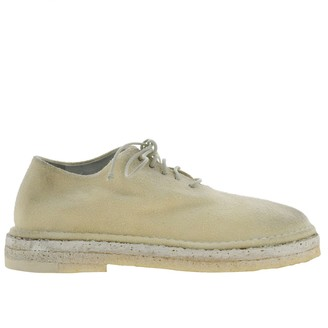 Marsèll Parapa Suede Brogues With Rubber Sole