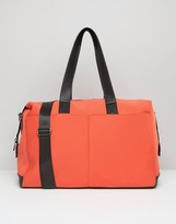 Asos ASSO LIFESTYLE Double Pocket Scuba Carryall