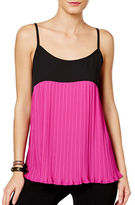 I.N.C International Concepts Pleated Colourblocked Camisole