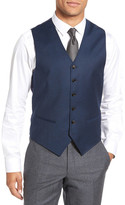 Ted Baker &Jones& Trim Fit Solid Wool Vest