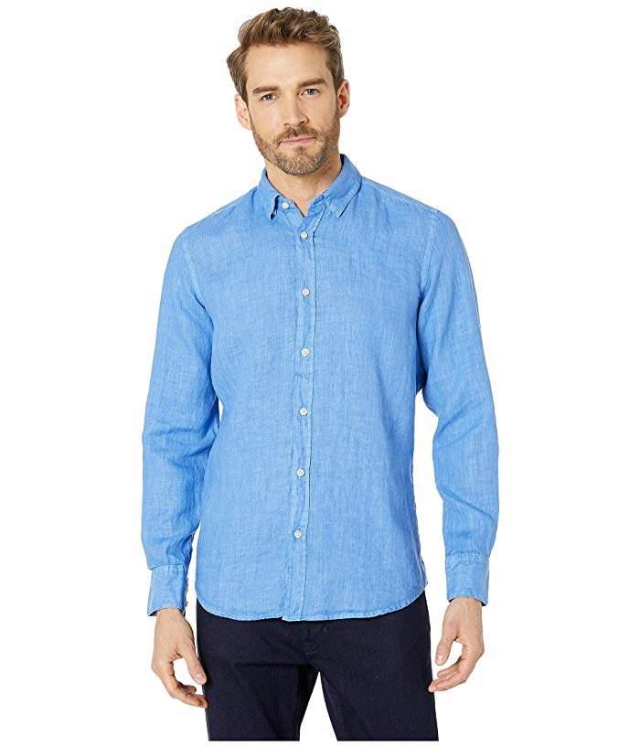 4be126988 Hugo Boss Mens Linen Shirts - ShopStyle