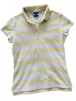 Tommy Hilfiger Yellow Cotton Top for Women