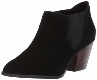 Bella Vita Women's Emilia Western-Inspired Shootie Ankle Boot