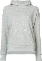 Simon Miller frayed kangaroo pocket hoodie