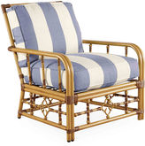 Lane Venture Mimi Striped Lounge Chair, Periwinkle