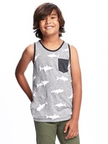 Old Navy Jersey Pocket Tank for Boys