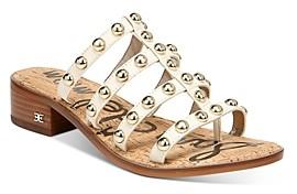 Sam Edelman Women's Juniper Strappy Slip On Thong Sandals