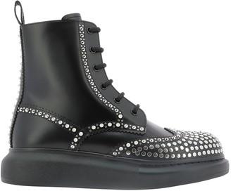 Alexander McQueen Hybrid Studded Boots