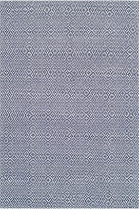 nuLoom Diamond Cotton Check Hand-Loomed Rug