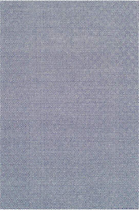 nuLoom Diamond Cotton Check Hand-Loomed Rug