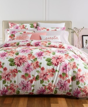 Charter Club Closeout! Damask Designs Bouquet 2-Pc. Twin Duvet Cover Set, Created for Macy's Bedding