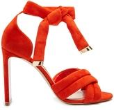 Nicholas Kirkwood Ziggy cross-strap suede sandals