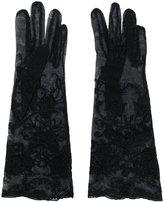 Ann Demeulemeester lace gloves