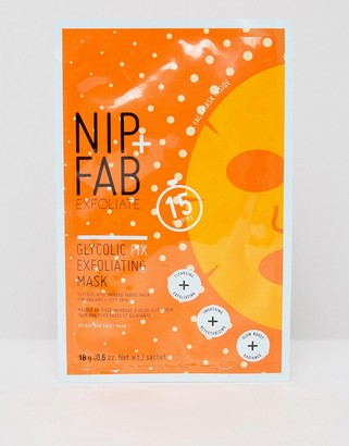 Nip + Fab NIP+FAB Exfoliate Glycolic Fix Exfoliating Microfiber Mask