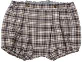 Marie Chantal Baby Boy Classic Tartan Bubble Shorts - Grey/Camel