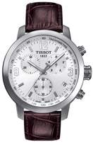 Tissot PRC200 Chronograph Leather Strap Watch, 42mm