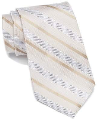 Calvin Klein Pearlized Stripe Tie