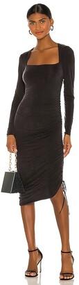 JONATHAN SIMKHAI STANDARD Lex Slinky Midi Dress
