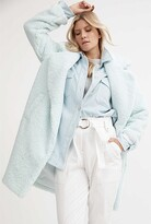 Thumbnail for your product : Witchery Faux Shearling Coat