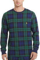 Polo Ralph Lauren Plaid Cotton Sleep Shirt