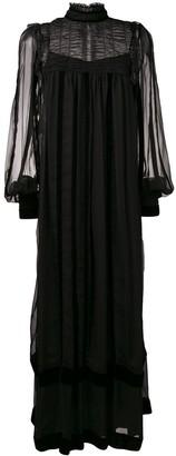 Alberta Ferretti sheer maxi dress