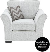 Cavendish Chevron Fabric Armchair