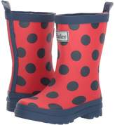 Hatley Polka Dots on Red Rain Boots (Toddler/Little Kid)