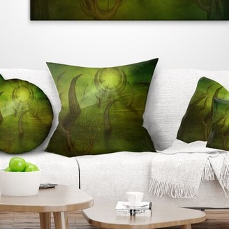 "East Urban Home Abstract Time Travel Pillow Size: 16"" x 16"", Product Type: Throw Pillow"