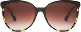 Oliver Peoples Ria Sunglasses in Dark Tortoise Brown