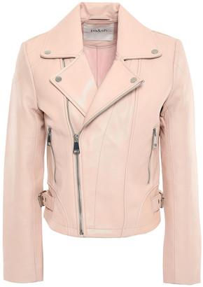 BA&SH Leather Biker Jacket