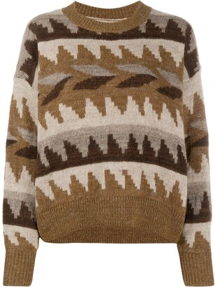Etoile Isabel Marant Graphic Print Jumper