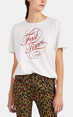 "R 13 Women's ""Fast Times"" Cotton T-Shirt - White"