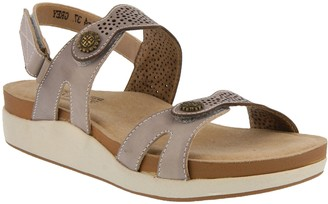 Spring Step L'Artiste by Leather Slingback Sandals - Globe
