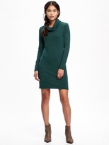 Old Navy Fitted Cowl-Neck Dress for Women