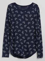 Gap Long Sleeve Sleep T-Shirt in Modal