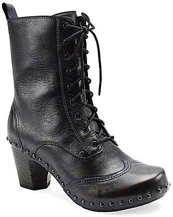 Dansko Nat Lace-Up Boots