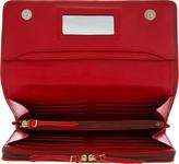 Jerome Dreyfuss Red Viper Leather Paf Travel Wallet