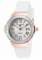 Swiss Legend Women's 20032DSM-RG-02-SB-WHT South Beach Analog Display Swiss Quartz White Watch