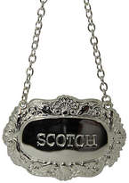 Corbell Silver Company Inc. Scotch Decanter Label - Silver Plated