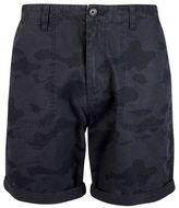 Burton Burton Navy Camouflage Utility Cargo Shorts