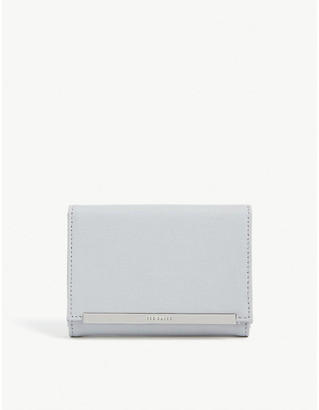 Ted Baker Elizzaa textured leather mini purse