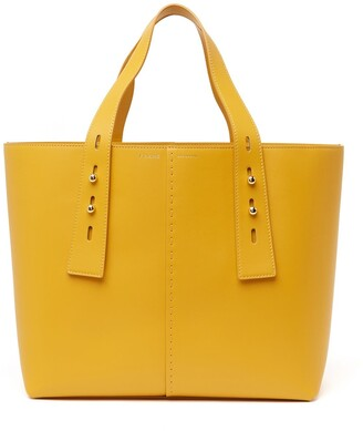 Frame Les Second Leather Medium Tote Bag