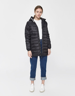 Canada Goose Women's Camp Hooded Jacket in Black, Size Extra Small