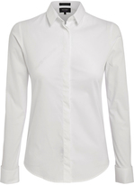 Oxford Angel Frnch Cuf Strtch Shirt Opwhtx