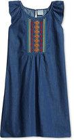 Roxy Embellished Denim Dress, Little Girls (2-6X)