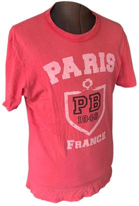 Balmain Red Cotton T-shirts